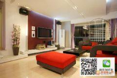 万达小区现代风格三居室