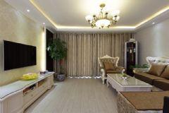 清新美式风美式风格三居室