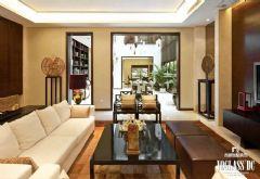 武汉尚层装饰宝安中国院子中式风格方案展示中式风格别墅