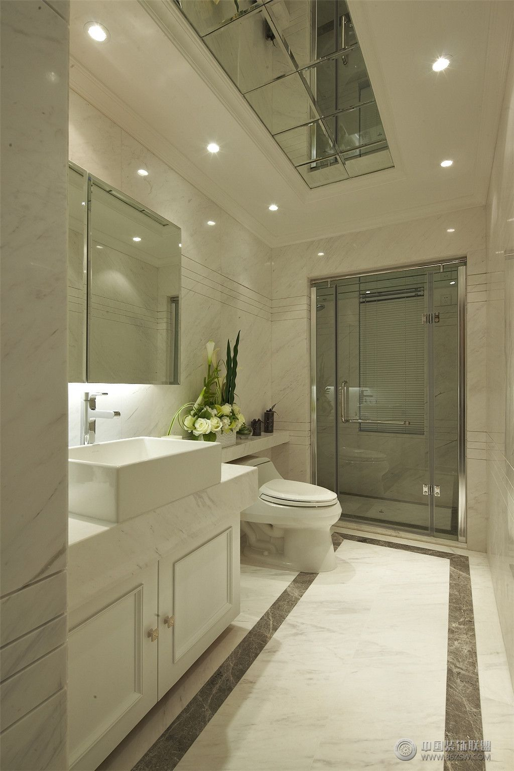 欧式四室两厅豪华装修图-卫生间装修图片