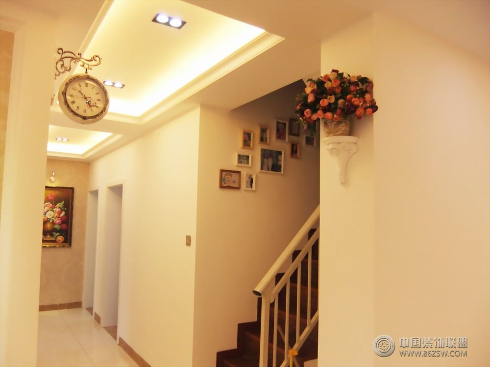 欧式小别墅-过道装修效果图-八六(中国)装饰联盟装修