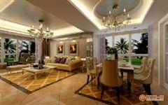阿尔卡迪亚欧式风格三居室