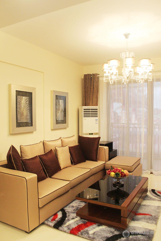 美式家装-客厅装修效果图-八六(中国)装饰联盟装修