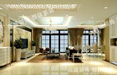 天山熙湖欧式风格三居室
