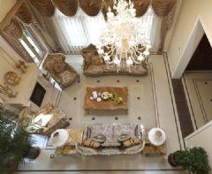 复地东湖国际140平米以上户型方案设计美式风格别墅