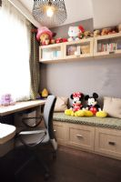 灰色简欧式欧式客厅装修图片