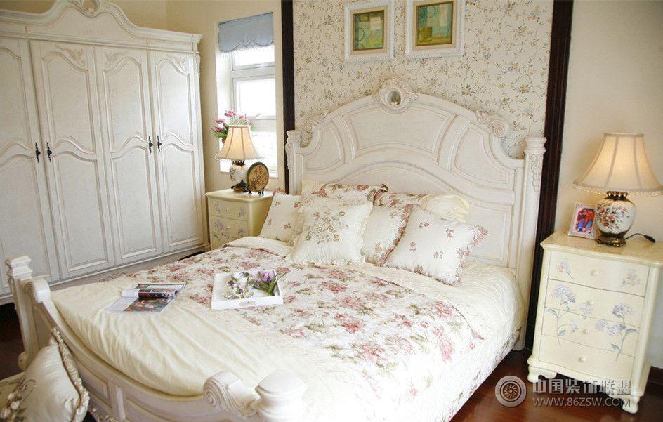 2014欧式风格小别墅-卧室装修效果图-八六(中国)装饰
