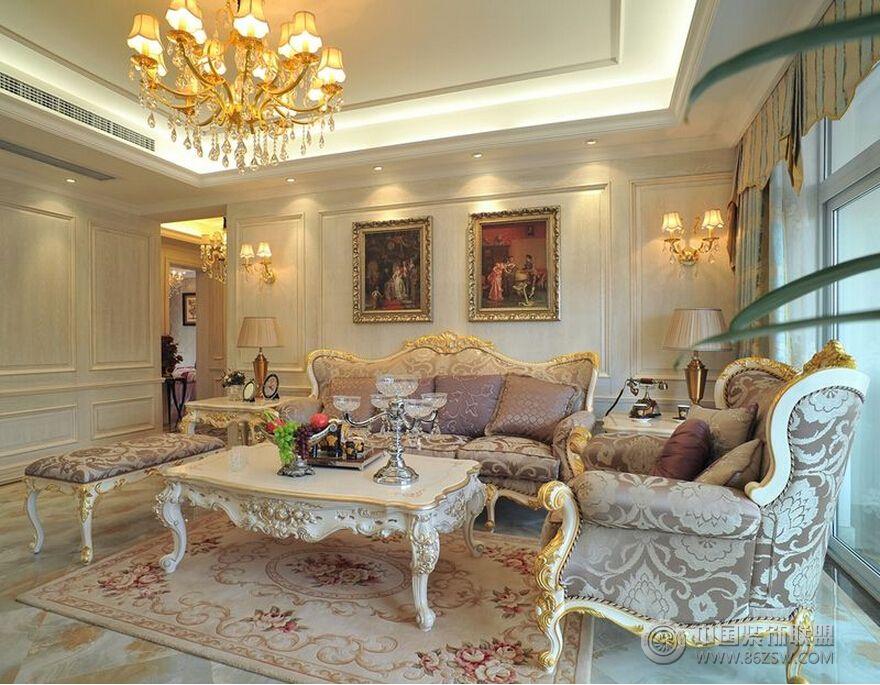 欧式风格家装欧式客厅装修图片