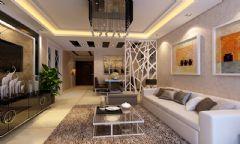 廊桥四季现代风格三居室