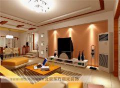 北京旧房翻新改造中式风格大户型