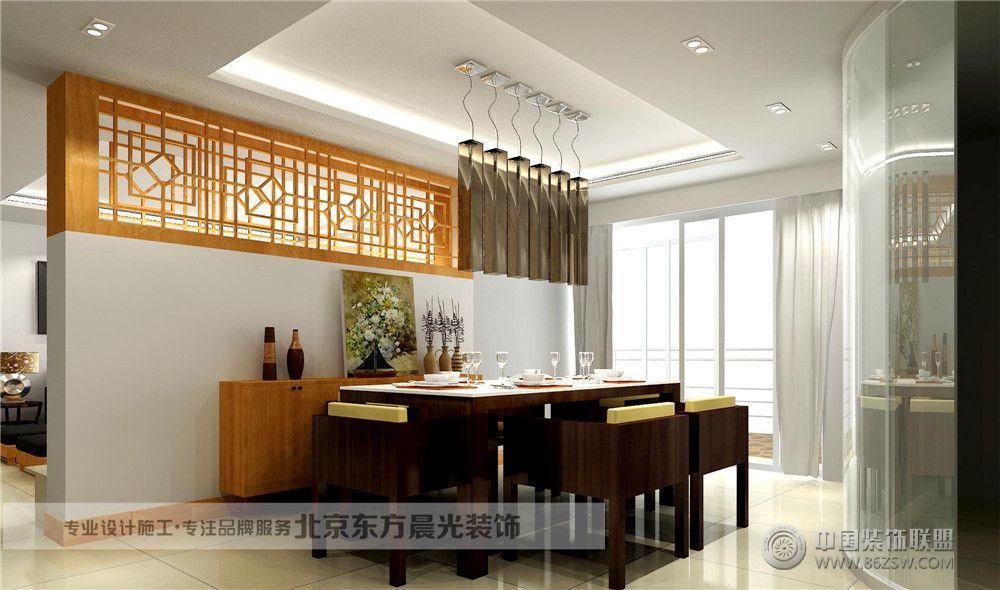 房屋结构改造-客厅装修效果图-八六(中国)装饰联盟