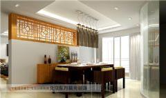 房屋结构改造中式风格大户型
