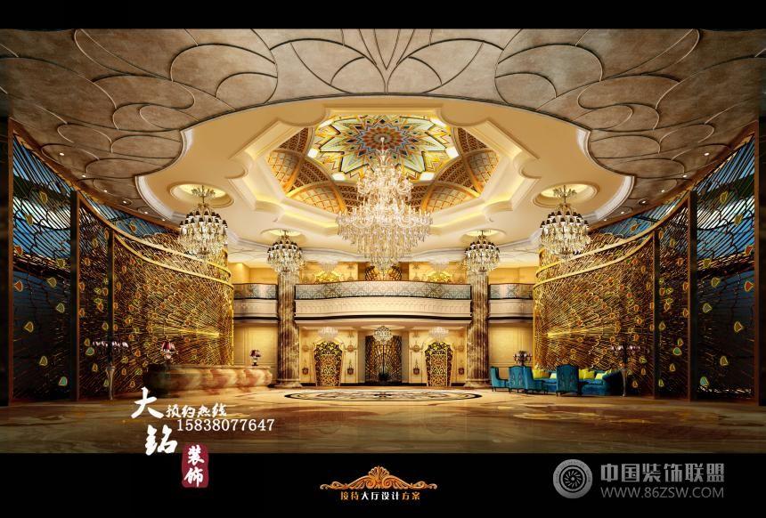 皇宫ktv-单张展示-ktv装修效果图-八六(中国)装饰