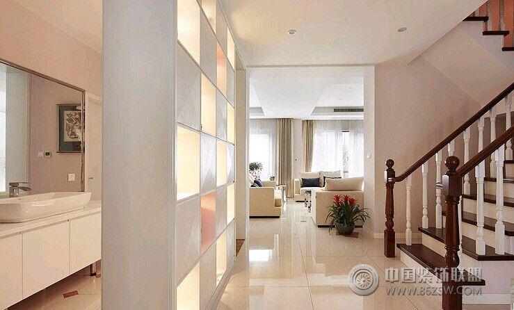 简约复式楼-过道装修效果图-八六(中国)装饰联盟装修