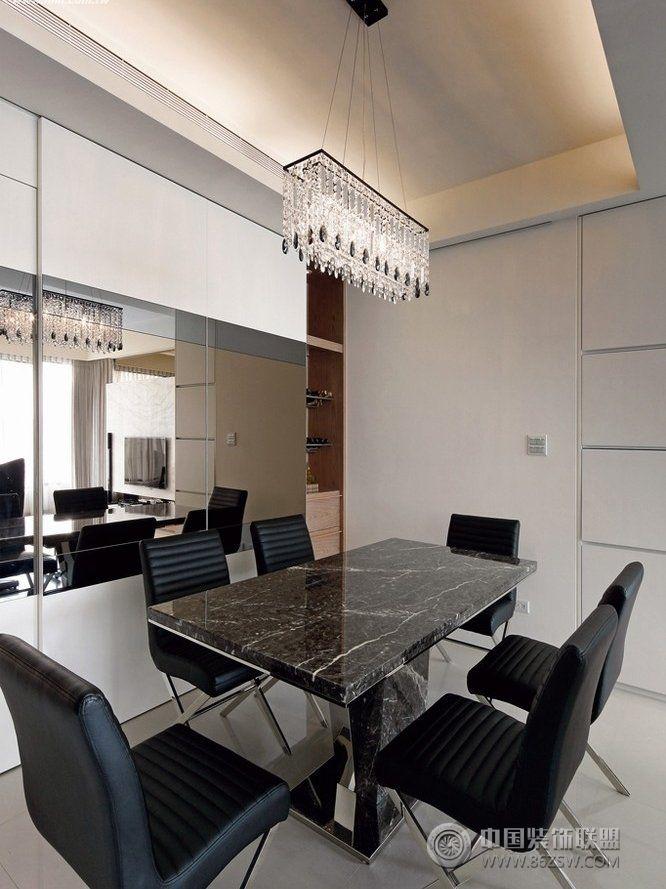 现代风格三室一厅装修效果图 客厅装修图片