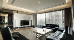 现代风格三室一厅装修效果图