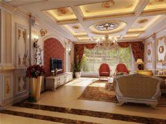 成都尚层装饰别墅装修欧式风格效果图(十一)欧式风格别墅