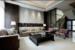 现代风格两室一厅装修图