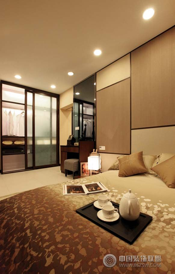90平米现代简约风格-客厅装修效果图-八六装饰网装修
