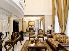 美式风格的豪华别墅设计图