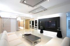 现代简约风格四居室装修图