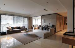 简约风格130平三室两厅装修图