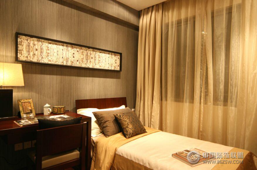 中式风格装修三室一厅