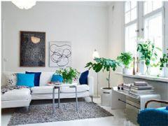 北欧美式风格三居室