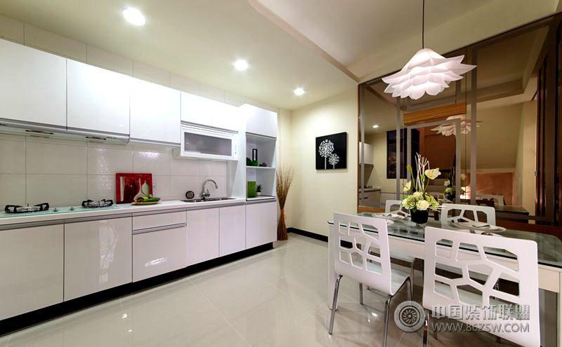 现代简约风格80平米小户型装修图现代简约厨房装修图片
