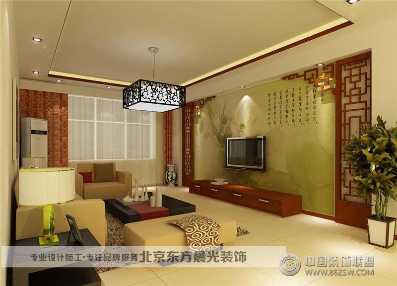 仿古中式设计-客厅装修图片