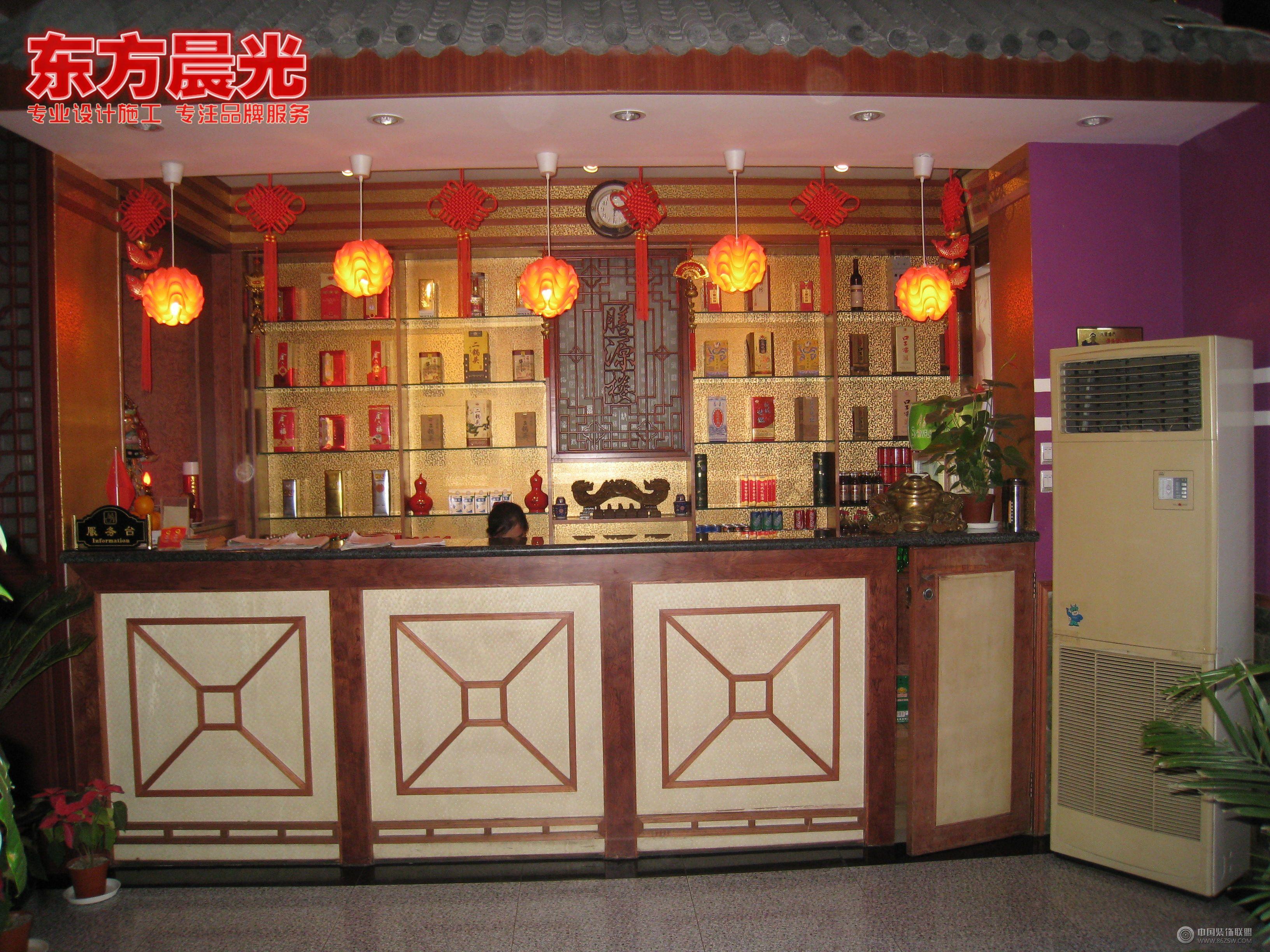 餐馆装修效果图 饭店中式装修  类型:公装 房型:餐馆 面积:1000平米