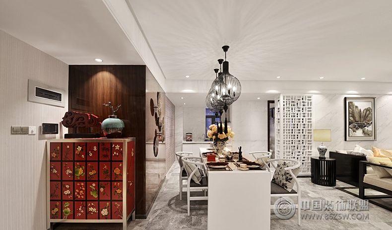新中式-餐厅装修图片图片