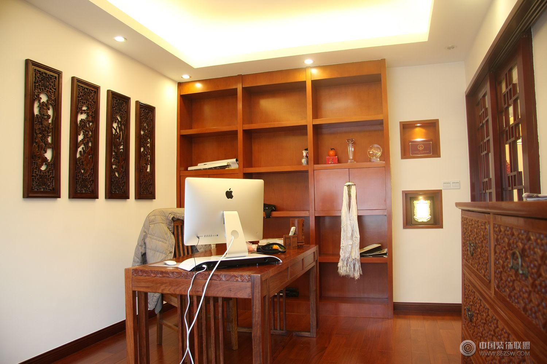 中式风格三居室玄关效果图 餐厅装修图片