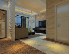 骏景豪庭现代风格二居室