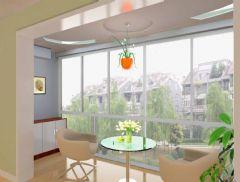 简约风格两室两厅装修图