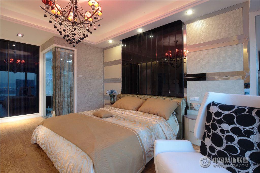 现代家居两室两厅装修图 客厅装修效果图 高清图片