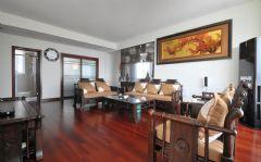 中式风格两室两厅室内装修效果图