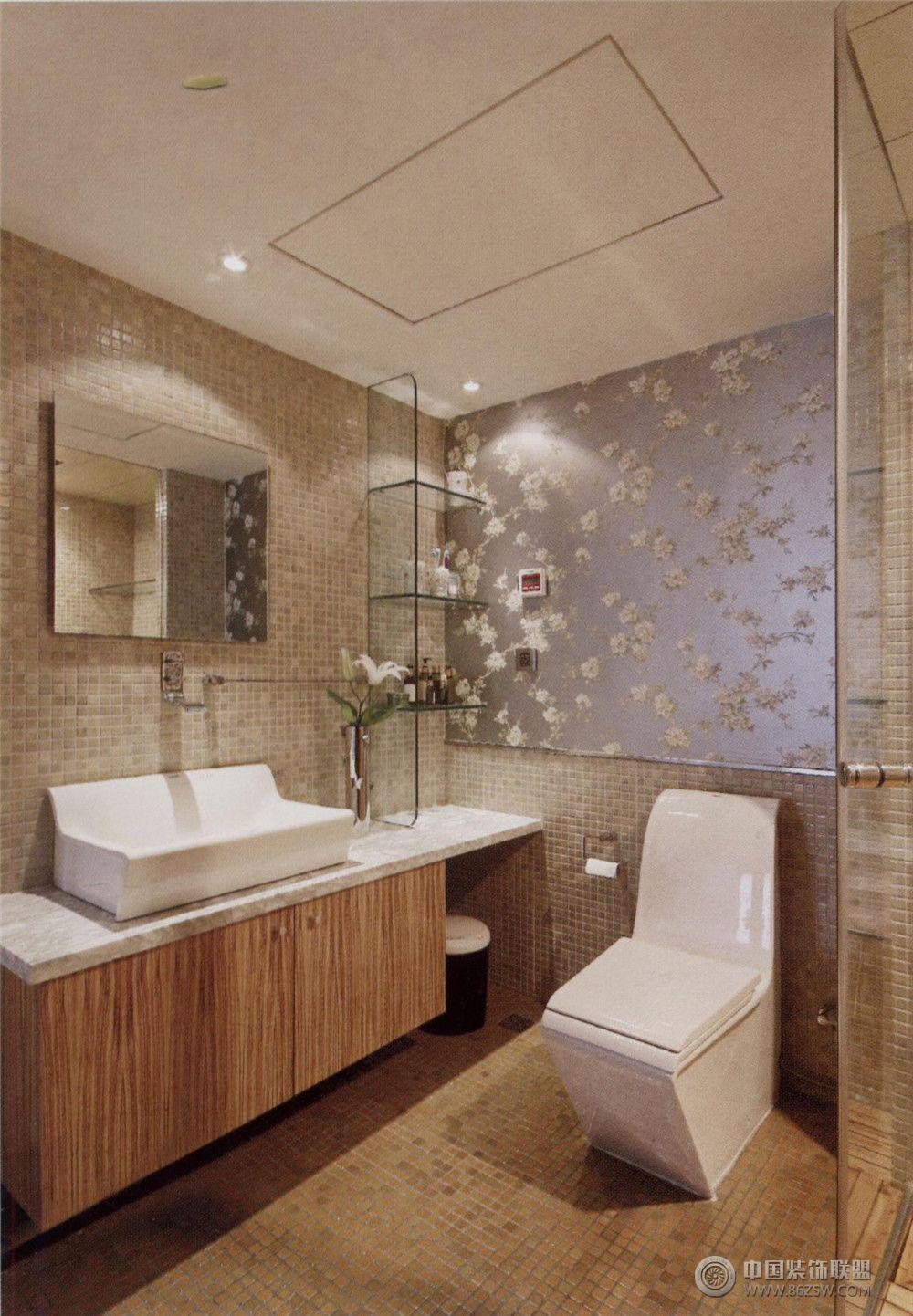 现代风格室内装修图欧式卫生间装修图片
