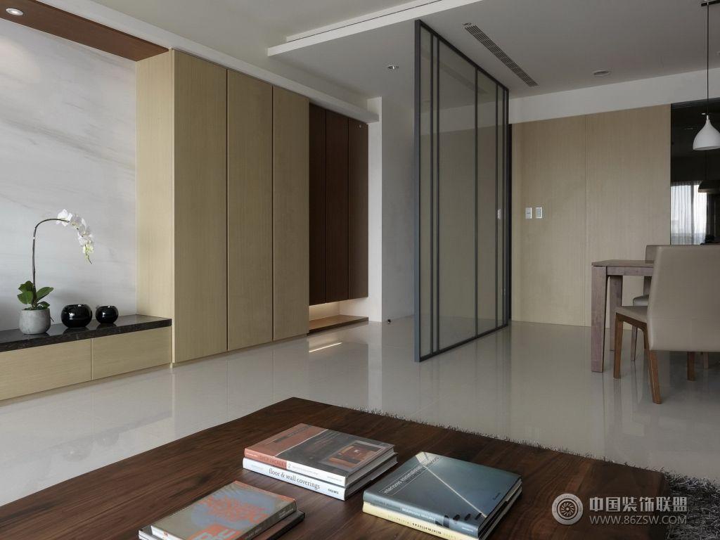 现代风格小户型现代客厅装修图片