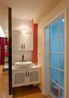 时尚家装60平米小户型装修图现代卫生间装修图片