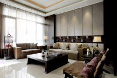现代简约三居室精装装修