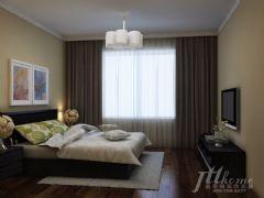 豪顿国际现代风格二居室