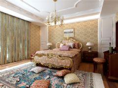 成都尚层装饰别墅装修欧式风格效果图(十六)欧式风格别墅