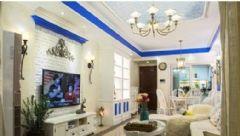 地中海风格两室一厅装修图