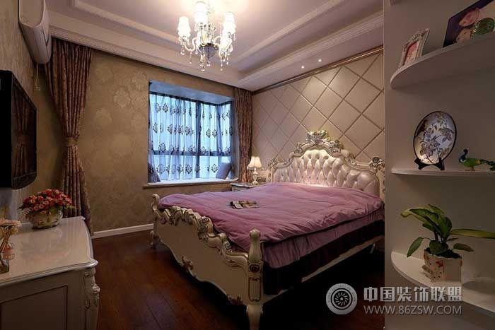 欧式两室一厅装修图-卧室装修效果图-八六(中国)装饰