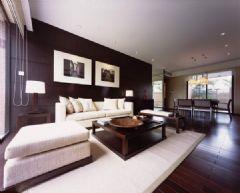 现代中式风格三居室装修图