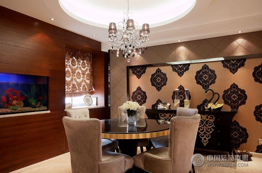 现代风格两室一厅-客厅装修图片