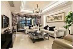 现代欧式欧式风格三居室