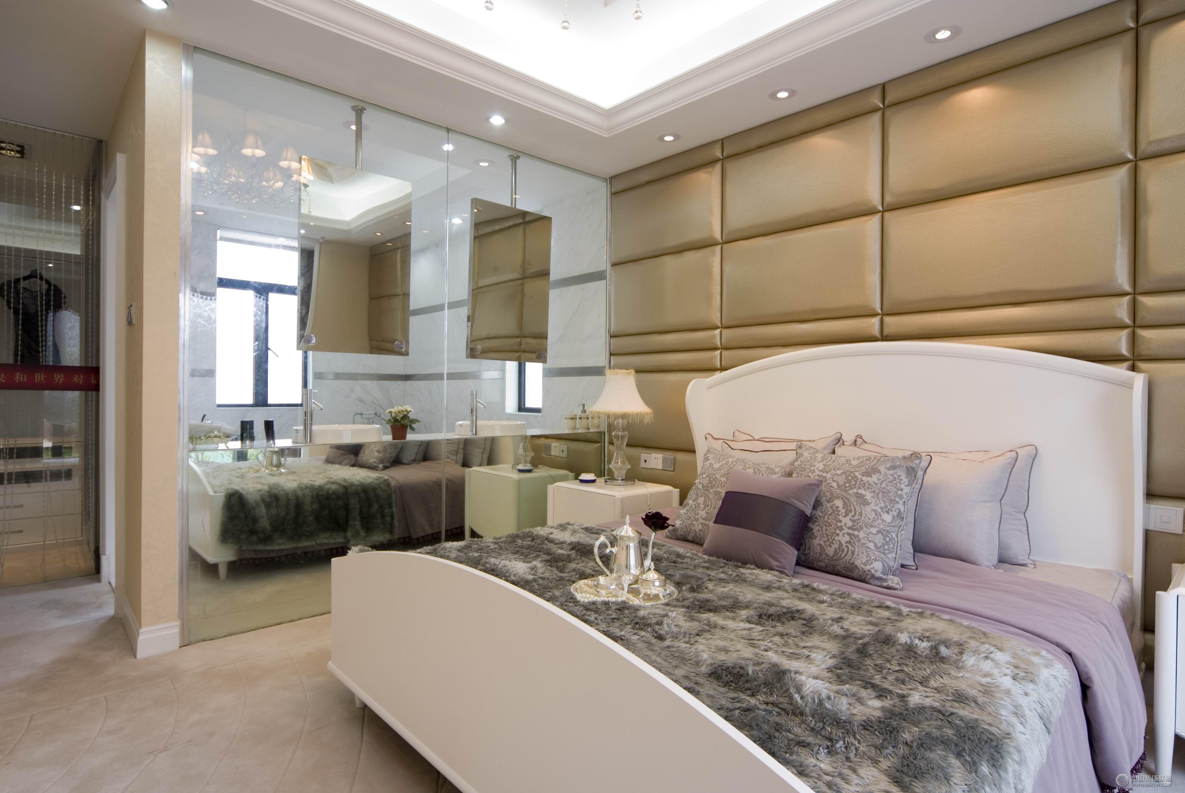 欧式四室两厅家装图_欧式大户型装修效果图_八六(中国