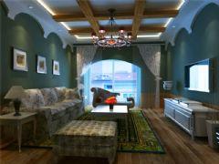 成都尚层装饰别墅装修地中海风格效果图地中海风格大户型